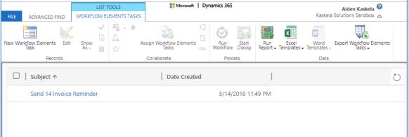 Schedule Workflows in Dynamics | Workflow Elements by Aiden